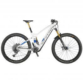 Bicicleta SCOTT Genius eRide 900 Tuned M Alb Albastru