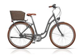 "Bicicleta CROSS Picnic Pro 28"" Gri/Maro 480mm"