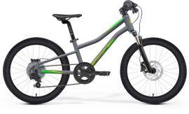 Bicicleta Copii MERIDA Matts J.24 UNI (11'') Gri Mat|Verde|Negru 2021