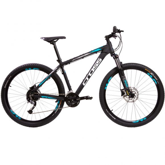 "Bicicleta CROSS Traction SL5 29"" negru/alb 510mm"