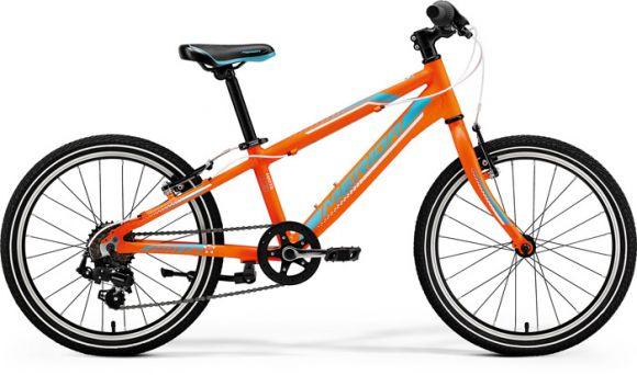 Bicicleta MERIDA Matts J.20 Race 20' (10') Portocaliu (Albastru/Alb) 2019