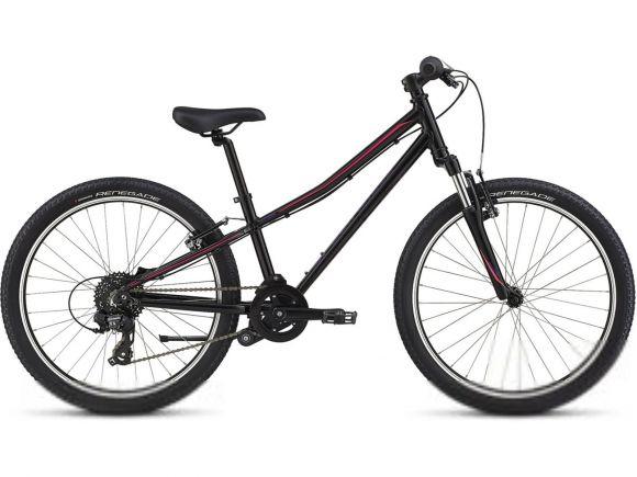 Bicicleta SPECIALIZED Hotrock 24 - Tarmac Black/Acid Pink/Acid Blue 11