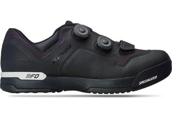 Pantofi ciclism SPECIALIZED 2FO ClipLite Mtb - Black 40