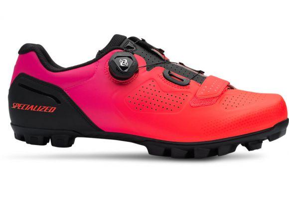 Pantofi ciclism SPECIALIZED Expert XC Mtb - Black/Acid Lava 36