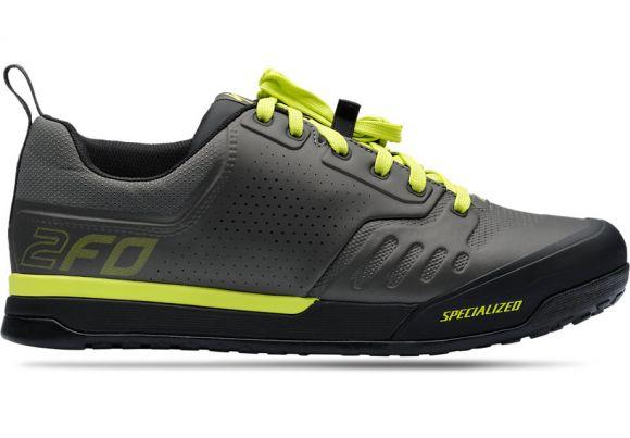 Pantofi ciclism SPECIALIZED 2FO Flat 2.0 Mtb - Charcoal/Ion 43