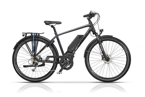 "Bicicleta CROSS Elegra Trekking Man 28"" Gri/Negru 550mm"