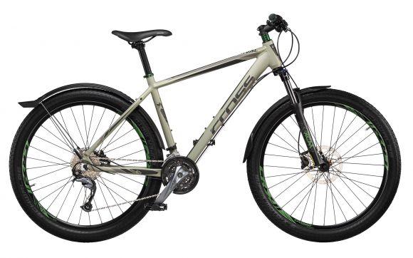 Bicicleta CROSS Rival 27.5'' Bej/Gri 480mm
