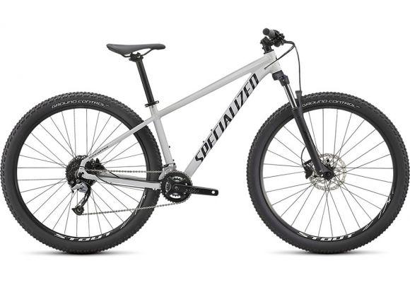 Bicicleta SPECIALIZED Rockhopper Comp 27.5 2x - Gloss Metallic White Silver/Satin Black XS