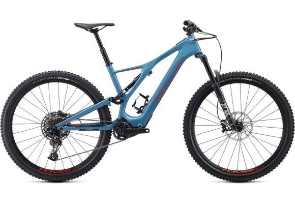 Bicicleta SPECIALIZED Turbo Levo SL Comp Carbon - Storm Grey/Rocket Red XL